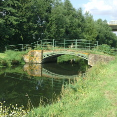Between New Gauge & Chadwell Springs looking downstream - A10 viaduct in sight   Nicholas Blatchley