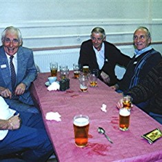 Left to right: George Braddon, Vic Henry, Tom Archer, Peter Reading, Tom Belshaw. | Geoff Webb