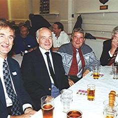 Left to right: Ted Benn, Brian Males, Cyril Field and Gordon Bartlett | Geoff Webb