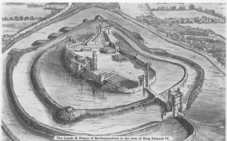 The Castle & Palace of Berkhampsted in the time of King Edward IV | Hertfordshire Archives & Local Studies