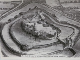 Berkhamsted Castle in the time of Edward IV | Hertfordshire Archives library collection