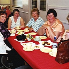 Left to right: Monica Bigham, Yvonne May, Pam Burrows, Maureen Smith, Linda Ward, Doreen Bird. | Geoff Webb