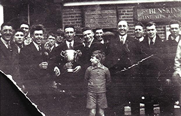 Players of Redbourn F.C. | Geoff Webb