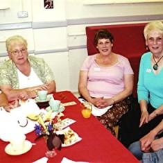 Left to right: Rita Bird, Maureen Stevens, Cynthia Picton, Rose Maguire, Rosalie Brown. | Geoff Webb