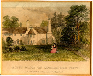 Birthplace of William Cowper | Hertfordshire Archives and Local Studies