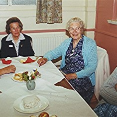 Left to right: Edna Blake, Olive Darvell, Phyllis & Lois Blake. | Geoff Webb