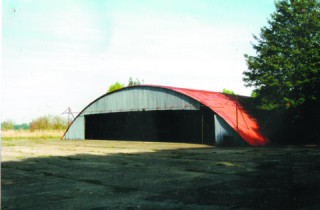 Blister Hangar Panshanger Airfield | Ben Roberts