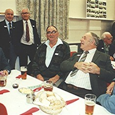 Left to right: Derek Fellowes, Brian Males, John Walker, Maurice 'Mo' Smith, John Pidgeon, John Boden. | Geoff Webb