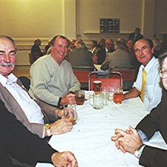 Left to right: Ian and Richard Robertson, Bill Bolt, Stephen Murphy and Roger May | Geoff Webb