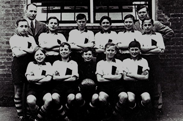 Boys School Football Team | Geoff Webb