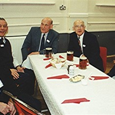 Left to right: Ralph Alexander, Darley Webb, George and Horace Brett, Eric Neville. | Geoff Webb