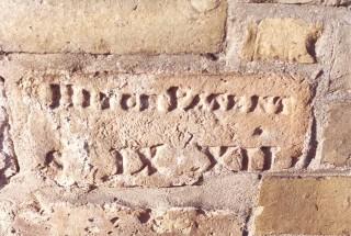 Walkern Road bridge - Brickmaker, Hitch's, mark. | Hertfordshire Archives and Local Studies