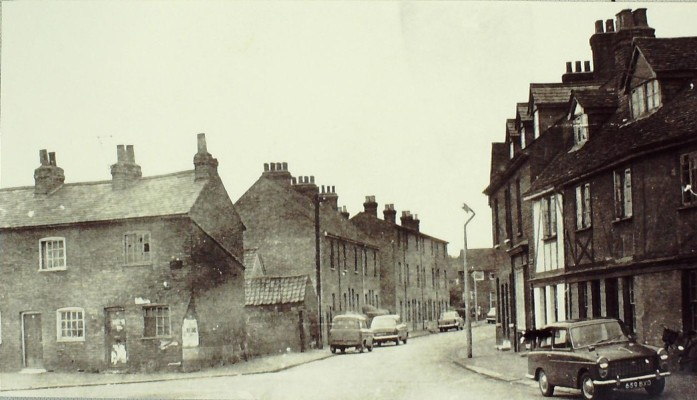 Junction with Brookfield Lane, 1960