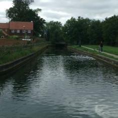 Brookfield Lane, looking upstream | Nicholas Blatchley