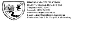 School Badge and details | Brookland School