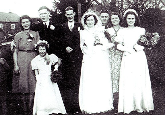 Marriage of Ronald Brown and Gwendoline Taylor | Geoff Webb