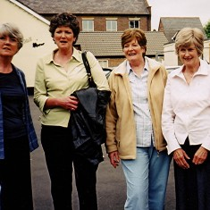 The Brown sisters, left to right: Rosalie, Carol, Margaret and Kath. | Geoff Webb