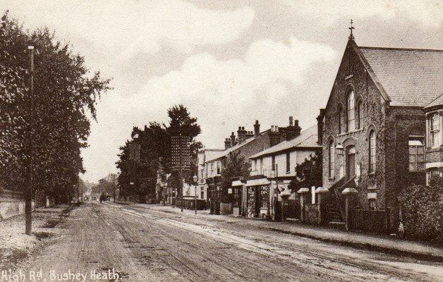 High Road, Bushey Heath pre 1912