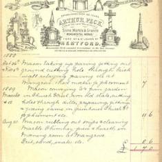 Pecks Billhead [D/EHxB20] | Hertfordshire Archives and Local Studies