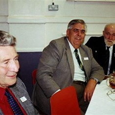 Left to right: Cyril Field, Peter Dalton and Ken Mimer | Geoff Webb
