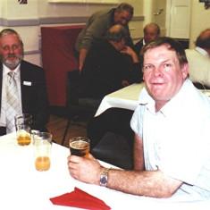 Robert Herring (left) and Eric Neville Jnr | Geoff Webb
