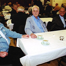 Tom Archer (left), Tom Belshaw (centre) and Dennis Winch | Geoff Webb