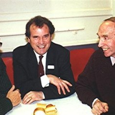 Left to right: Gordon Anderson, George Hooper and Dennis Sibley | Geoff Webb