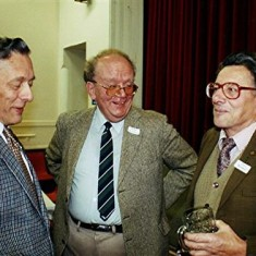 Left to right: Darley Webb, Peter Flitton and John Boden. | Geoff Webb