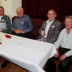 (Left to right): Roy Fox, Arthur Winch, Eric Neville Snr., John Boden | Geoff Webb