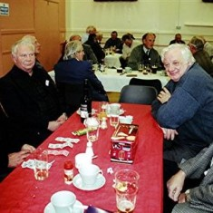 Left to right: Terry O'Dell, Barrie Millington, Arthur Winch, Mick Maguire | Geoff Webb