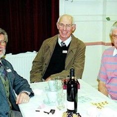 Left to right: Tony Dickinson, Brian Palmer, Jeff Coote. | Geoff Webb
