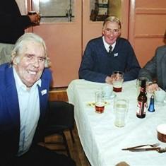 Left to right: Jim Dalton, Derek Fellowes, Alan Clark. | Geoff Webb