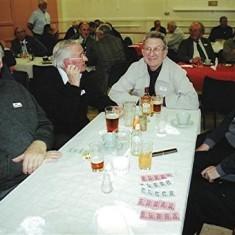Left to right: Fred Woodstock, John Dew, Roger May, Malcolm Dew. | Geoff Webb