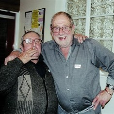 Dennis Chapman (left) and Brian Cowland | Geoff Webb