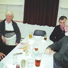 Left to right: David Paynter, Alan Paynter, Tony Neville, Fred Woodstock. | Geoff Webb