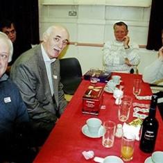 Left to right: Arthur Winch, Mick Maguire, Derek Bandy, Ted Benn. | Geoff Webb