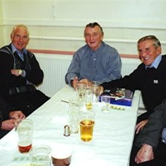 Left to right: Twins Vic and Ron Henry, Peter Allen, John Groves, Ken Hedges. | Geoff Webb