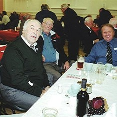 Left to right: John Pidgeon, Mick Day, Donald Friar. | Geoff Webb