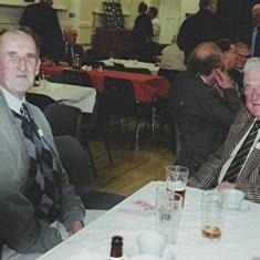 Two old Cricket Club friends, Bob Benn (left) and Harry Hobbs. | Geoff Webb