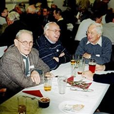 (Left to right): Derek Crawley, Eric Neville, Jim Smith, John Tingey, Norman Shepherd   Geoff Webb
