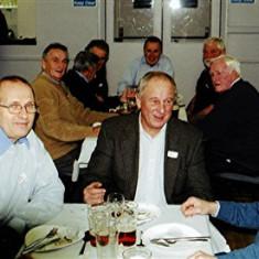 (Left to right): John Sears, John Miles, Frank Yates, David Wilson, Graham Pryke   Geoff Webb