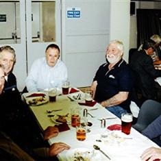 (Left to right): Peter Allen, John Groves, George Braddon, Melvyn Fox, Bob Braddon, Jim 'Jippy' O'Hara   Geoff Webb