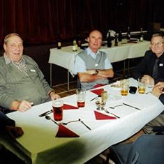 (Left to right): Derek Fellowes, Roy Flitton, Stephen Murphy, Roger May, George Murphy   Geoff Webb