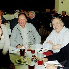 (Left to right): Graham Pryke (front), Nick Wilkinson, John Brown, Mick Miles, John Sears   Geoff Webb