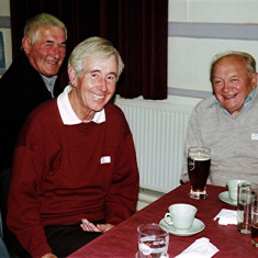 (Left to right): Fred Rolph, Roy Woods, George Reading | Geoff Webb