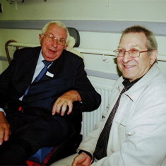 John Hill (left) and Roger May | Geoff Webb