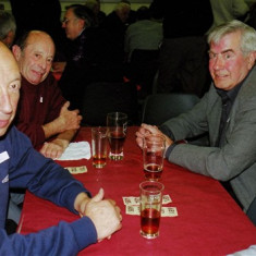 (Left to right): Harvey Franks, Keith Bissell, Terry O'Dell | Geoff Webb