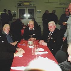 (Left to right): Alan French, Geoff Nunn, John Tingey, 'Snowy' Nunn, Arthur Burrows (rear), Jim 'Jippy' O'Hara, Dennis Winch | Geoff Webb