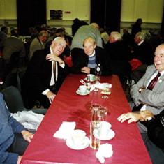 (Left to right): Derek Fellowes, Dick Dalton, Bob Orchard, Fred Arnold, Alan Clark | Geoff Webb