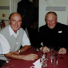 Stephen Murphy (left) and Francis 'Frank' Yates | Geoff Webb
